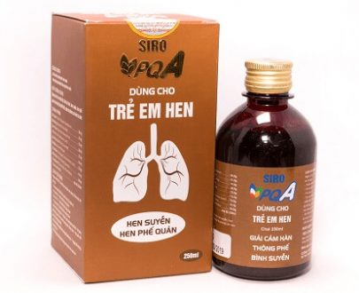 PQA HEN TRẺ EM là sản phẩm dành cho trẻ em bị hen có tác dụng hỗ trợ điều trị tận gốc bệnh hen ở trẻ em, hen suyễn ở trẻ em, hen phế quản ở trẻ em. Sản phẩm được sản xuất hoàn toàn từ dược liệu thiên nhiên an toàn hiệu quả.