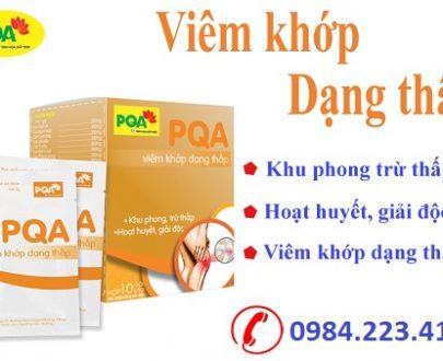 PQA Viêm khớp dạng thấp chuyên trị bệnh viêm khớp dạng thấp hiệu quả