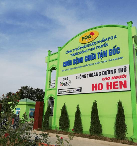Tòa nhà mới xây của công ty PQA