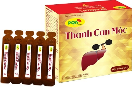PQA Thanh Can Mộc dùng cho người xơ gan, gan nhiễm mỡ, giúp tăng cường chức năng gan