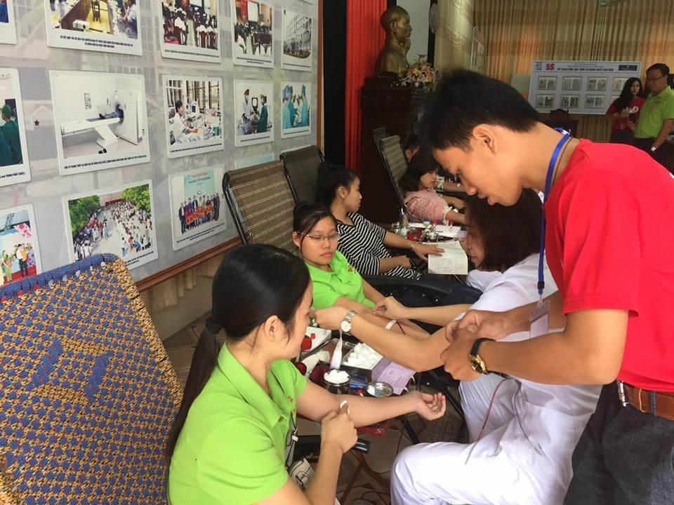 Hiến máu nhân đạo một hoạt động thường niên của đại gia đình PQA