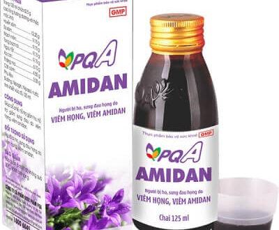 PQA Amidan chữa viêm amidan, viêm họng