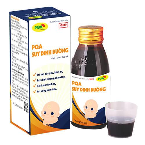 Suy Dinh Dưỡng PQA dành cho trẻ biếng ăn suy dinh dưỡng