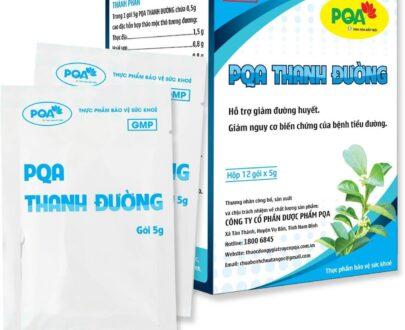 PQA THANH ĐƯỜNG ổn định đường huyết cho người bệnh tiểu đường